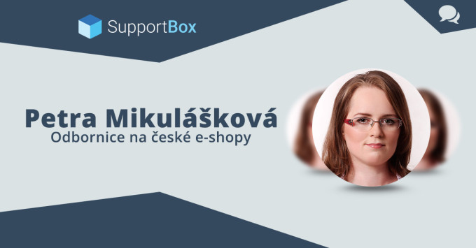 Petra Mikulášková. Odbornice na české e-shopy