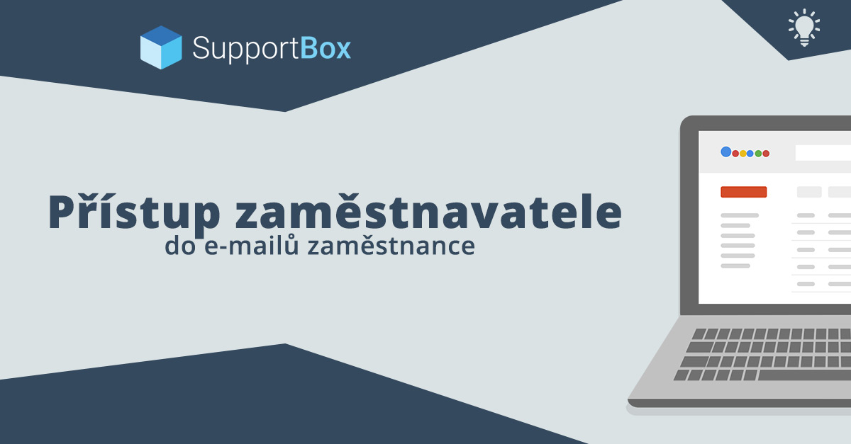 Přístup zaměstnavatele do e-mailů zaměstnance