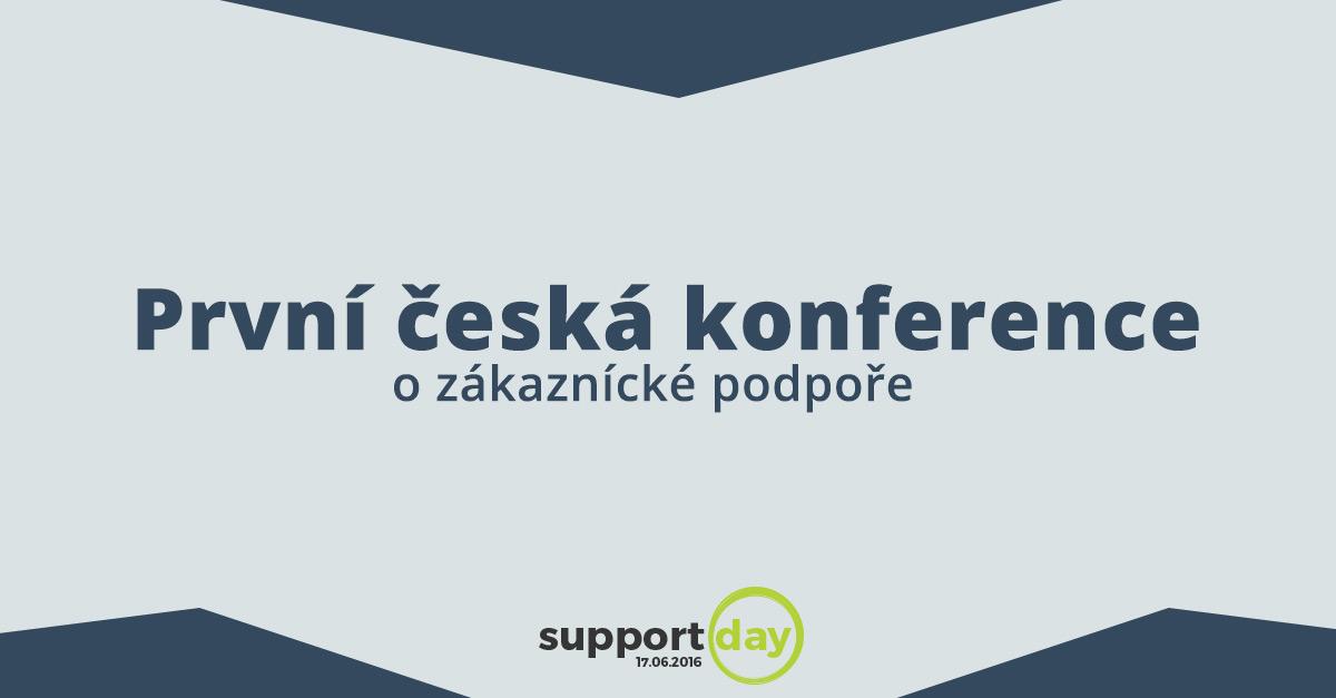 První česká konference o zákaznické podpoře